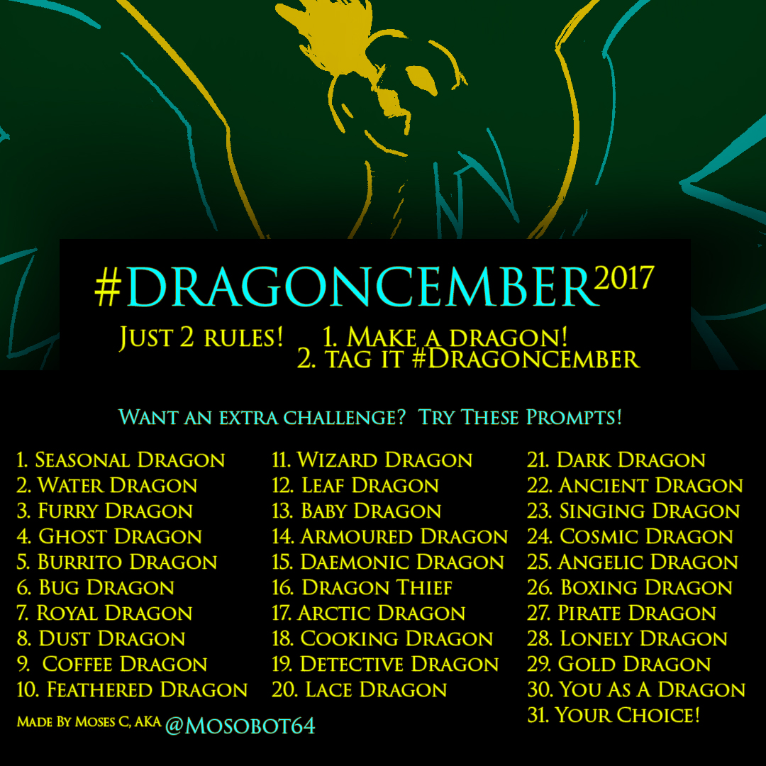 Mosobot's Dragoncember Meme 2017 FINAL